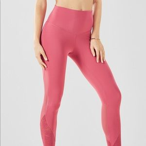 Fabletics Powerform High Waisted Pink Leggings